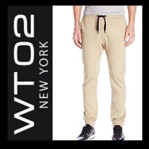 WT02 Men's Khaki Joggers